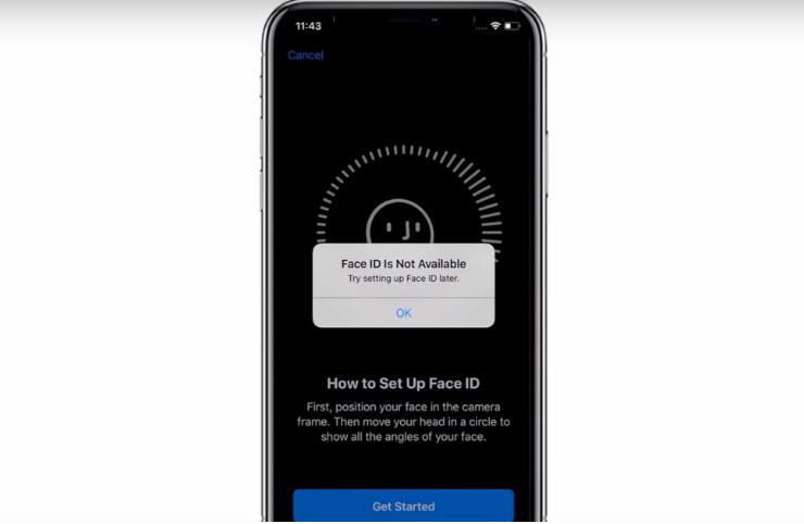 iPhone báo Face ID không khả dụng