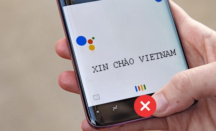 Không gọi được Google Assistant