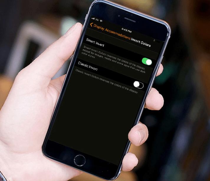 chế độ Dark Mode trên iPhone