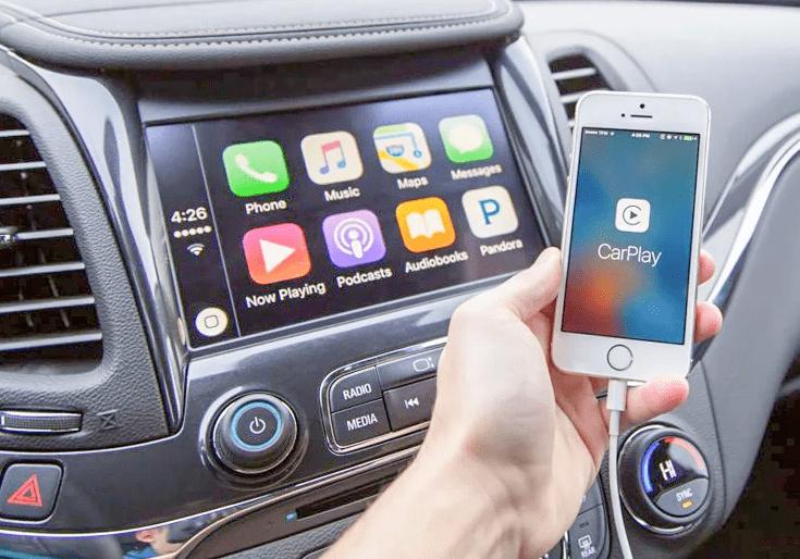 iPhone không hiển thị Carplay