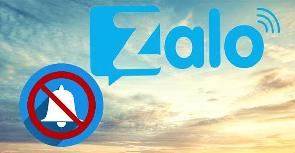 tắt thông báo Zalo có nhận được cuộc gọi