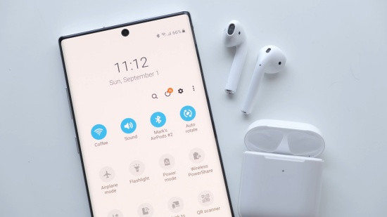 Android kết nối Airpods
