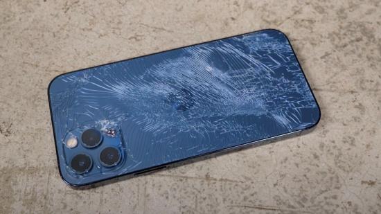 iPhone 12 Pro Max bị bể